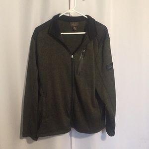 Greg Norman zip up sweater